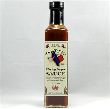 Old Texas Whisky pepper steak sauce
