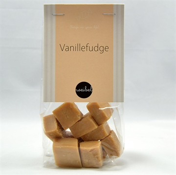 Vanilje fudge i pose med top